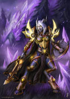World of Warcraft: Lightforged Paladin by LudvikSKP