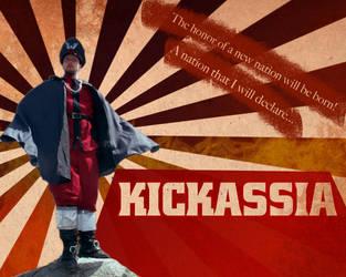 Kickassia wallpaper by Memo1990