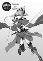 Saber: Miyamoto Musashi by ADSouto