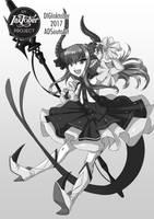 Lancer: Elizabeth Bathory by ADSouto