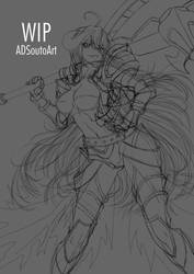 WIP - Albedo Guardian Overseer by ADSouto