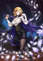 Glynda Goodwitch, Huntress Teacher by ADSouto