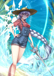 Summer Time Weiss Schnee - Casual clothes by ADSouto