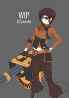 WIP - Summer Time Coco Adel, battle by ADSouto