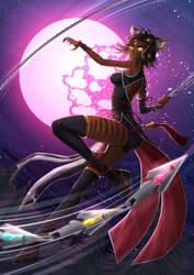 Sienna Khan Weretigress - battlesuit by ADSouto