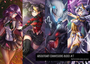 Commisions Block #7 - Read the info - by ADSouto