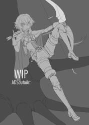 WIP - High Elf Archer Girl / Goblin Slayer by ADSouto