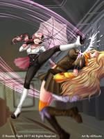 RWBY:CR - Leg Sweep by ADSouto