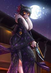 Kali Belladonna / New Year Kimono by ADSouto