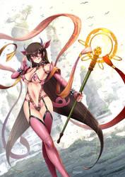 Xuanzang Sanzang / zhu bajie - Fate/GO by ADSouto