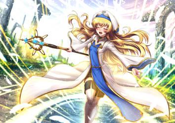 Priestess, Novice Adventurer / Unifom by ADSouto