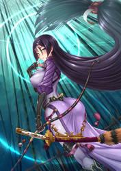 Minamoto no Raikou, Fate/GO Servant - Berserker by ADSouto