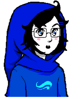 Kawaii John Egbert Talksprite By Vantasexy On Deviantart