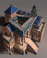 Escher - Ascending Descending2 by zwamneus