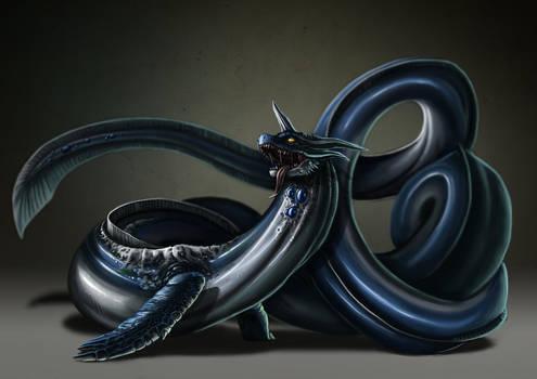 ER - Dragonair Tiberius by catandcrown