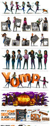Yomp Marketing Illustrations by catandcrown