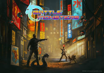 Battle Monsters - Kickstarter by catandcrown