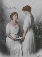 Grand Duchess Olga and Grand Duchess Tatiana by Linnea-Rose