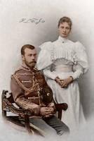 Tsar and Tsarina of Russia by Linnea-Rose