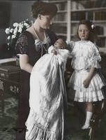 Princess Ingeborg with her youngest by Linnea-Rose