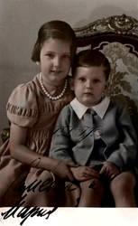 Simeon and Marie Luisa of Bulgaria by Linnea-Rose
