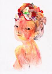 La Dame de fruits by milleduc