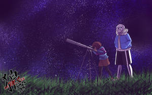 Contest prize - Stargazing by xxMileikaIvanaxx