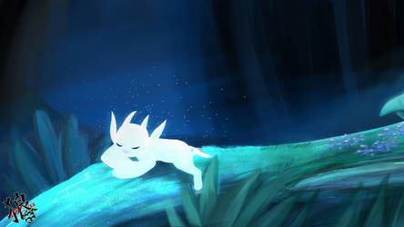::Ori and the Blind Forest - Fanart (SPEEDPAINT):: by xxMileikaIvanaxx
