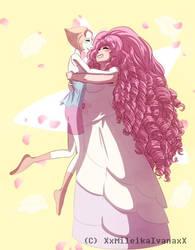 Steven Universe - Rose and Pearl by xxMileikaIvanaxx