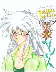 Yami Bakura Fairy's BWAHAHA by alaer