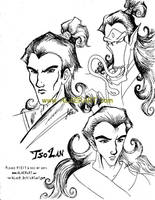 Tso Lan in Human form by alaer