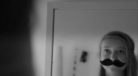 I mustache you. by HannahKoller