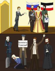 Czar Nicholas II page 1 by PrincessofNargles