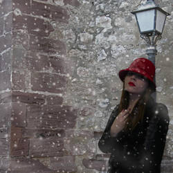A Snowy Day by PrincessofNargles