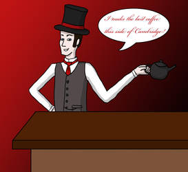 Jack the Ripper's Coffee by PrincessofNargles