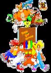 Happy Birthday Crash Bandicoot by Guaguan