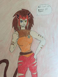 Force captain catra by TheDogwhitaTail