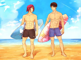 SouRin- Surfs up by PunksGoneDaft