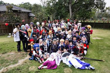 ToukenRanbu Full Group[throwback] by Rayray0211