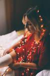 Christmas lights by HammettLady