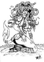 Demoness Inks by ZoeStead