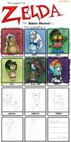 Legend Of Zelda Race Meme..WIP by Sparkleee-Sprinkle