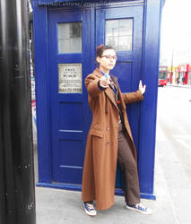 Tenth Doctor cosplay in London - X by ArwendeLuhtiene