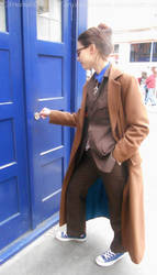 Tenth Doctor cosplay in London - XI by ArwendeLuhtiene