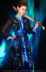 Warrior!Luthien cosplay - WIP by ArwendeLuhtiene