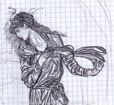 Old work - Nimue study by ArwendeLuhtiene
