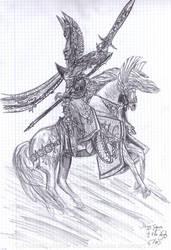 Old work - Tyrion of the High Elves by ArwendeLuhtiene