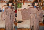 Spock in Vulcan robes cosplay  - Test by ArwendeLuhtiene