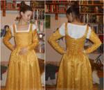 15th Century Burgundian kirtle/Erendis cosplay-WIP by ArwendeLuhtiene