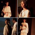 Druidess reenactment at an Irish show by ArwendeLuhtiene